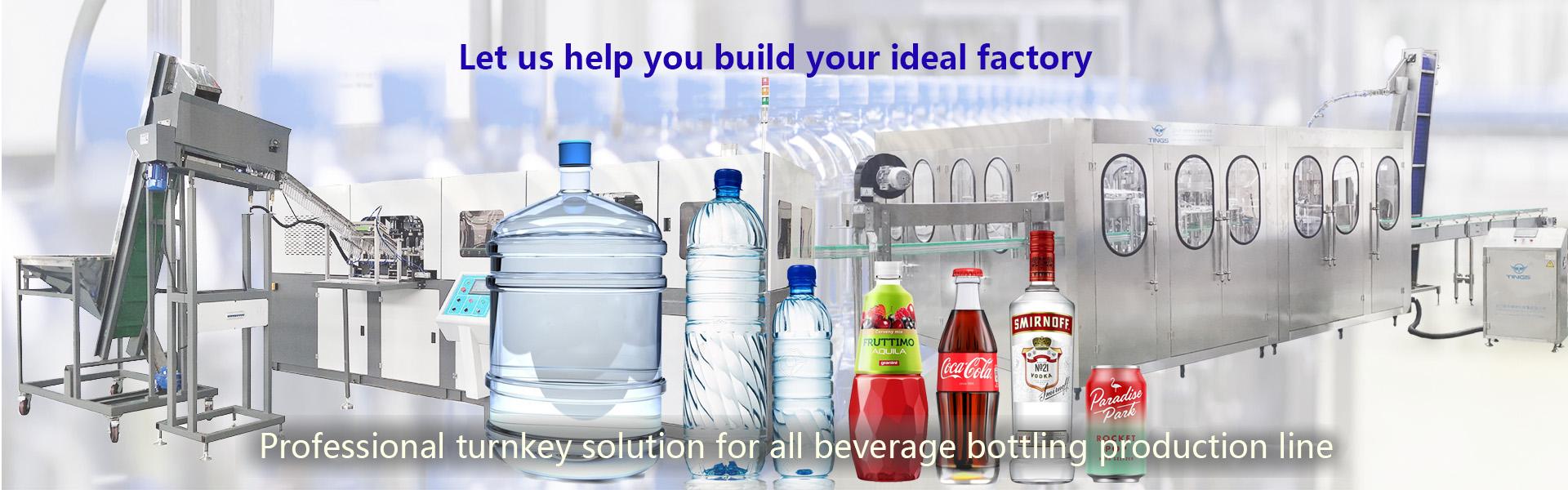 01 Professional Turnkey Solution For All Beverage Bottling Production Line